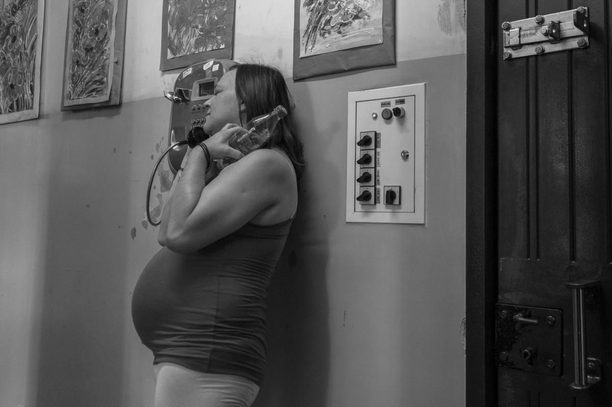 Ciąża uwięziona